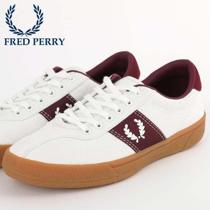 フレッドペリー Fred Perry スニーカー シューズ スポーツ オーセンティック テニス スノーホワイト 白 メンズ 靴 プレゼント ギフト