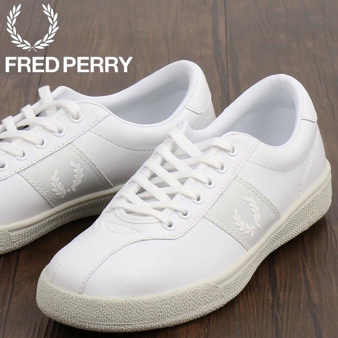 フレッドペリー Fred Perry シューズ スニーカー スポーツシューズ テニスシューズ 本革レザー オーセンティック スノーホワイト メンズ プレゼント ギフト