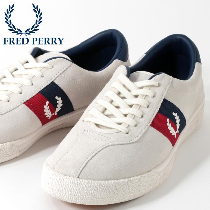 フレッドペリー Fred Perry シューズ スニーカー テニスシューズ オーセンティック テニス スノーホワイト メンズ プレゼント ギフト