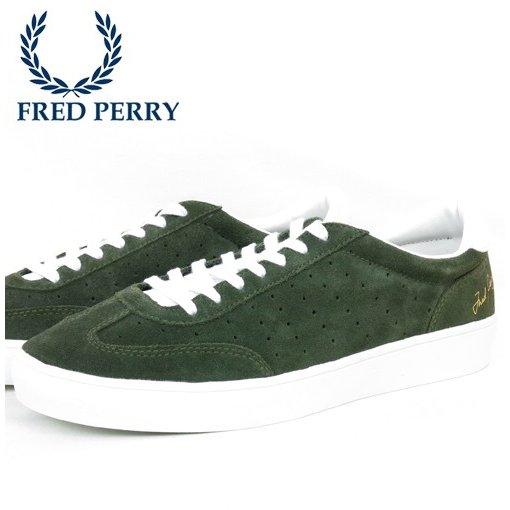 フレッドペリー Fred Perry ローカット スニーカー アンパイアスウェード テニスシューズ フォレストナイト 靴 メンズ シューズ ギフト