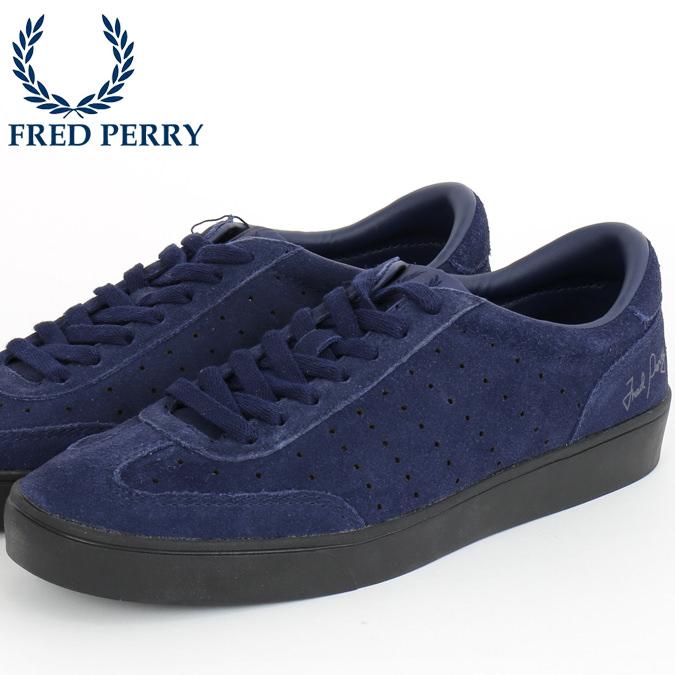 フレッドペリー Fred Perry スニーカー シューズ アンパイアスウェード カーボンブルー 青 紺 靴 メンズ プレゼント ギフト