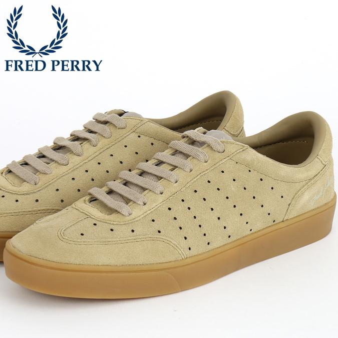 フレッドペリー Fred Perry スニーカー シューズ アンパイアスウェード ウォームストーン 生成 靴 メンズ プレゼント ギフト