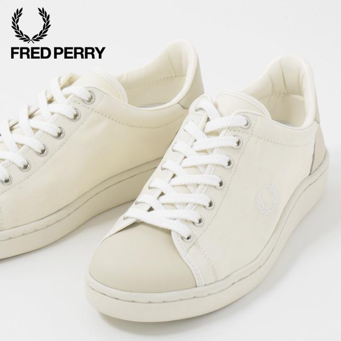 フレッドペリー Fred Perry スニーカー シューズ ブロー Breauxミリタリー キャンバス ホワイト 撥水加工 日本製 メンズ レディース 靴 プレゼント ギフト