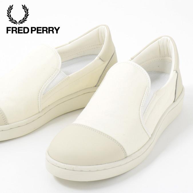 フレッドペリー Fred Perry スニーカー シューズ リリ Liliミリタリー キャンバス ホワイト 撥水加工 日本製 メンズ レディース 靴 プレゼント ギフト