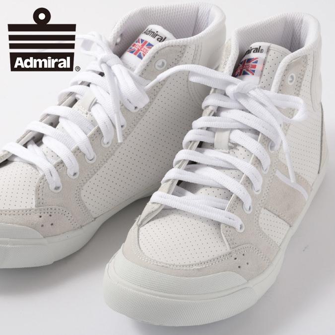 Admiral レディース スニーカー アドミラル イノマー ハイ 2 INOMER HI II シューズ 定番 ホワイトホワイト メンズ ギフト プレゼント