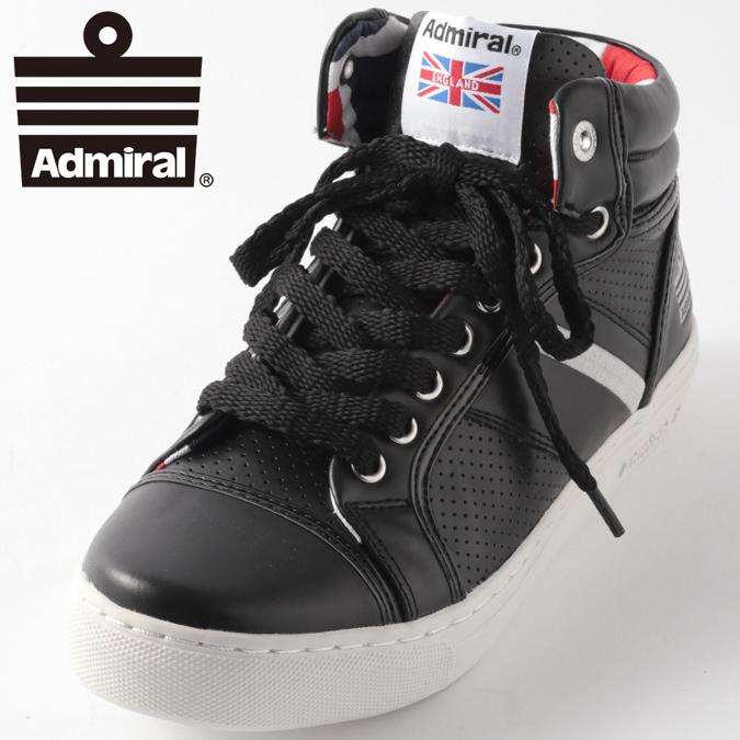 Admiral レディース スニーカー アドミラル マンチェスター ユーケー MANCHESTER UK シューズ ブラックシルバー ギフト プレゼント