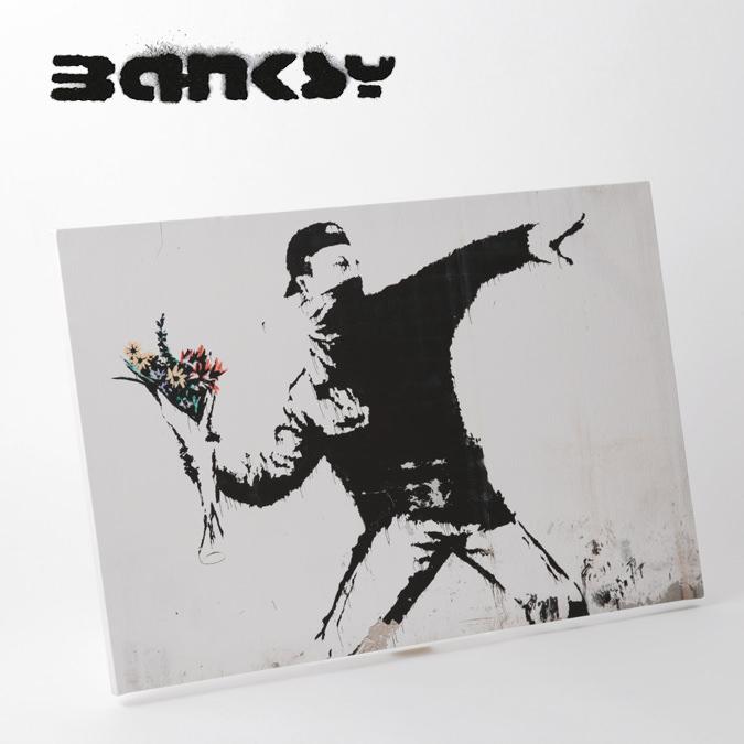 BANKSY CANVAS ART キャンバスアートパネル ポスター