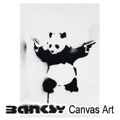 バンクシー 壁掛け アート アートパネル アートフレーム 【送料無料】BANKSY CANVAS ART バンクシー