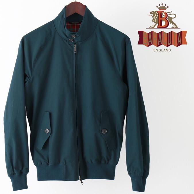 バラクータ G9 オリジナル ハリントンジャケット ぺトロール 英国製 メンズ リブ スイングトップ ブルゾン 上着