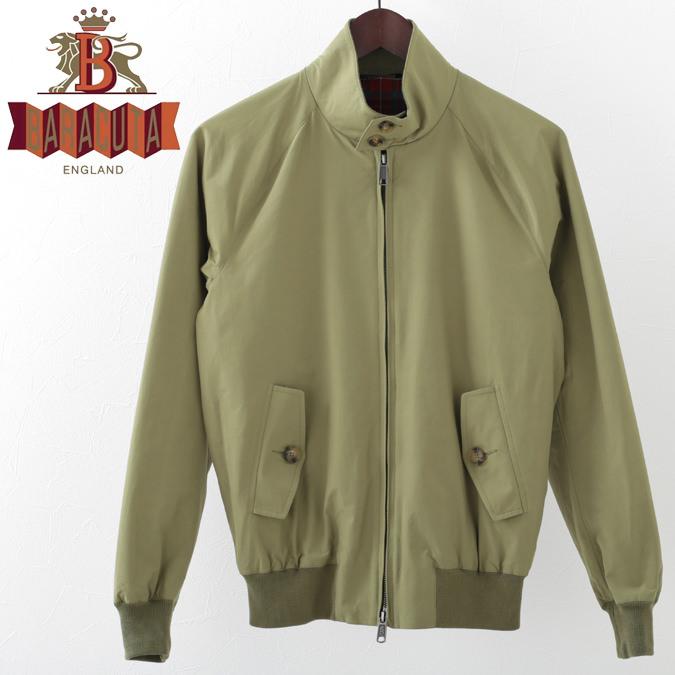 バラクータ メンズ G9 オリジナル ハリントンジャケット オリーブグリーン 英国製 19SS 新作 リブ スイングトップ ブルゾン 上着