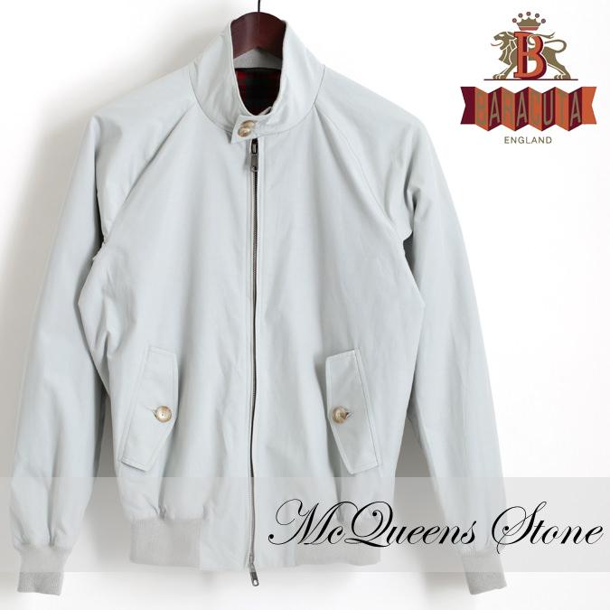 バラクータ G9 オリジナル クラシック ハリントンジャケット マックイーンズストーン 英国製 メンズ リブ ブルゾン 上着 スティーブマックイーン愛用
