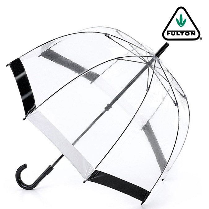 Fulton Fulton umbrella umbrella birdcage FULTON Chief umbrella United Kingdom Royal warrant new black white ladies BirdCage Umbrella umbrella birdcage Fulton fashion United Kingdom London fultonl041blackwhite