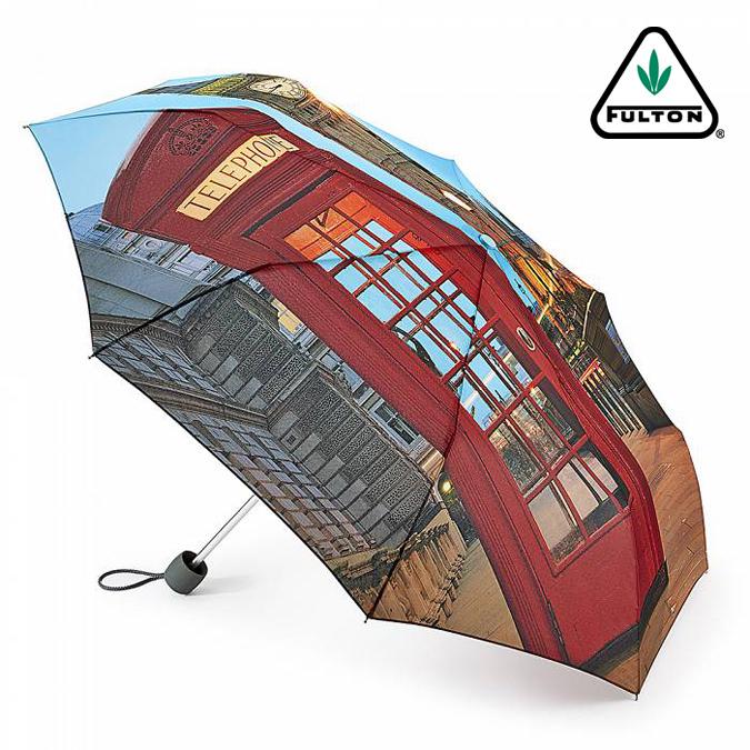 フルトン FULTON 傘 レディース Minilite 折り畳み傘 女性用 正規 かさ ロンドンシーン プレゼント ギフト