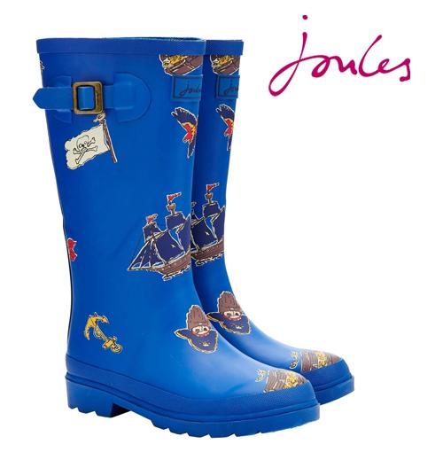 Joules ジュールス 子供用 長靴 レインブーツ ジュニア ボーイズ ウェリー 【送料無料】 キッズ プレゼント ギフト