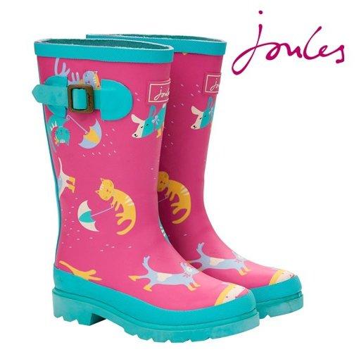 Joules ジュールス 子供用 長靴 レインブーツ ジュニア ガールズ ウェリー 【送料無料】 キッズ プレゼント ギフト