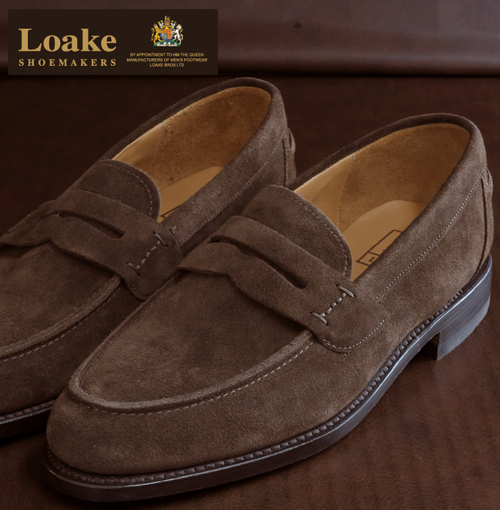 510b5616 ABBEY CLOZEST: Loake England roque leather shoes men loafer shoes F ...