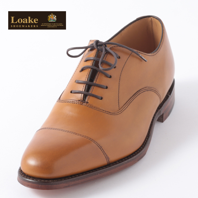 Loake England メンズ シューズ ロークイングランド 革靴 アルドウィッチ F 3E ALDWYCH ブラウン タン カーフオックスフォード ビジネス フォーマル ギフト