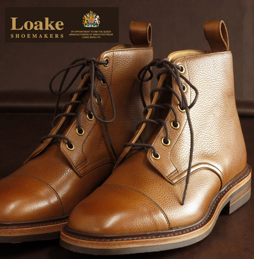 40%OFF SALE セール 革靴 メンズ Loake England ローク ミリタリー ブーツ F 3E Dovedale ギフト