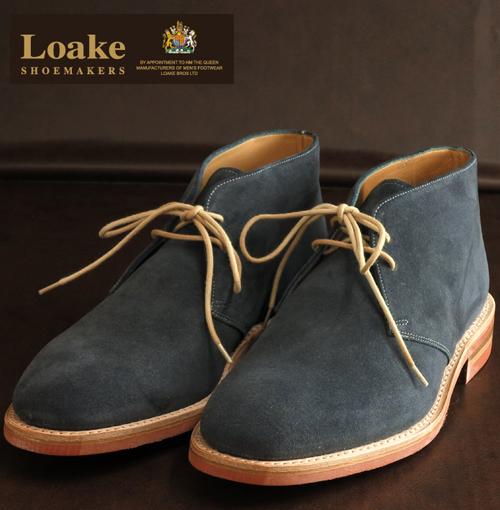 Loake England ローク 革靴 メンズ チャッカデザート ブーツ F 3E ギフト クリスマス