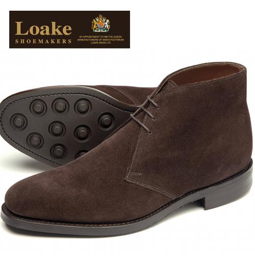 Loake England ローク 革靴 メンズ チャッカデザート ブーツ F 3E PIMLICO ギフト