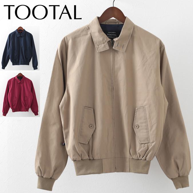 Tootal Vintage トゥータル ヴィンテージ ハリントン ジャケット 3色 メンズ モッズファッション ギフト