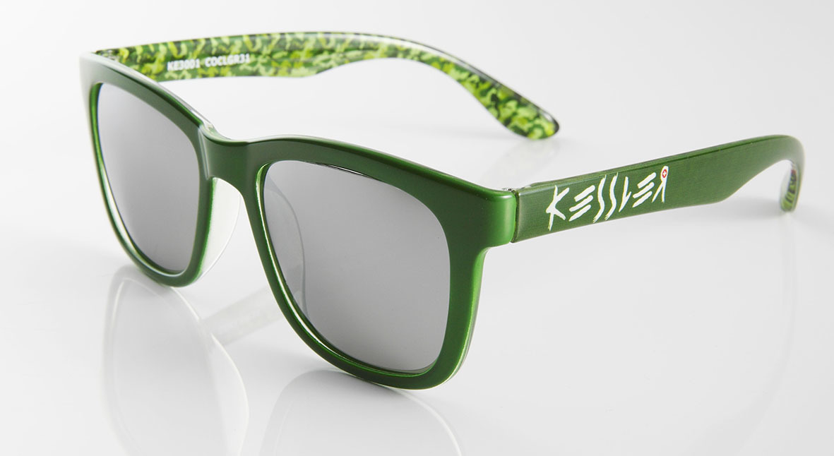 SPASHANFREEオフィシャル KESSLER EYEWEAR サングラス No.24 COCL GREEN UV・偏光レンズ ケスラー SPASHAN スパシャン