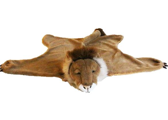WILD&SOFT(ワイルドアンドソフト) アニマルヘッド ブランケット ライオン BB908 BIBIB&Co(ビビブアンドコー) Animal Head