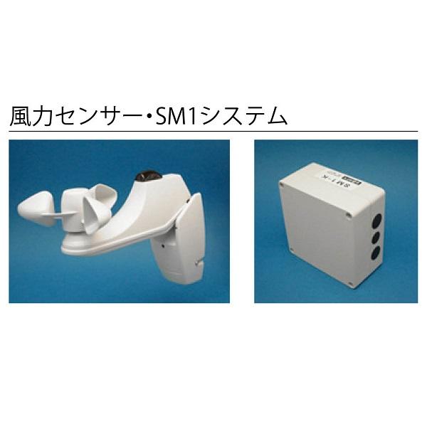 テンパル ホームオーニング 電装品オプション 風力センサー・SM5システム(プロペラ・制御盤セット) エルパティオ プラス/ソラカゼ/スーパーマキシム共通