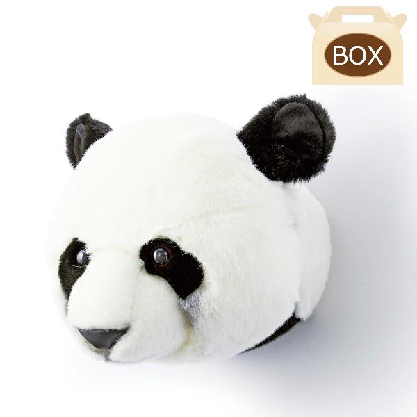 WILD&SOFT(ワイルドアンドソフト) アニマルヘッド パンダ 専用ボックス入り BIBIB&Co(ビビブアンドコー) Animal Head