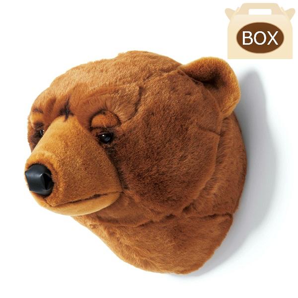 WILD&SOFT(ワイルドアンドソフト) アニマルヘッド ブラウン ベア BB21 専用ボックス入り BIBIB&Co(ビビブアンドコー) Animal Head