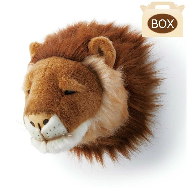 WILD&SOFT(ワイルドアンドソフト) アニマルヘッド ライオン 専用ボックス入り BIBIB&Co(ビビブアンドコー) Animal Head