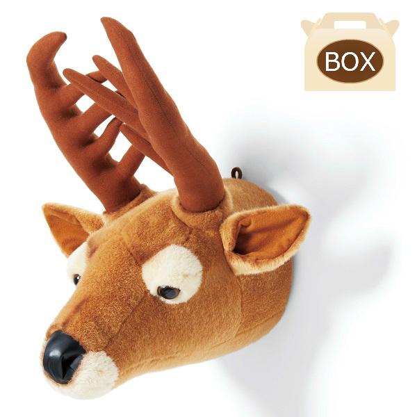 WILD&SOFT(ワイルドアンドソフト) アニマルヘッド シカ BB27 専用ボックス入り BIBIB&Co(ビビブアンドコー) Animal Head