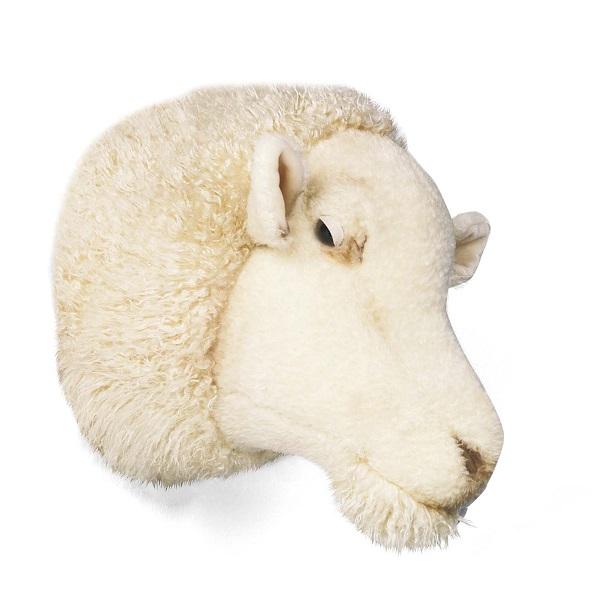 WILD&SOFT(ワイルドアンドソフト) アニマルヘッド ヒツジ WS0040 BIBIB&Co(ビビブアンドコー) Animal Head