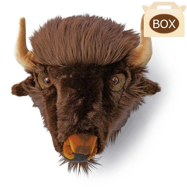 WILD&SOFT(ワイルドアンドソフト) アニマルヘッド バッファロー WS0054 専用ボックス付き BIBIB&Co(ビビブアンドコー) Animal Head