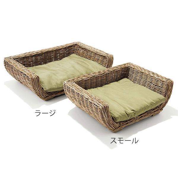 日本最大級 Maison Pederrey(メゾン ペデレー) ドッグ バスケット ラージ クッション付, カイショー 663b1159