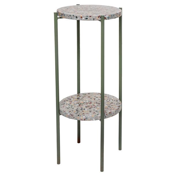 Bloomingville(ブルーミングヴィル) コンクリートサイドテーブル H60 グリーン