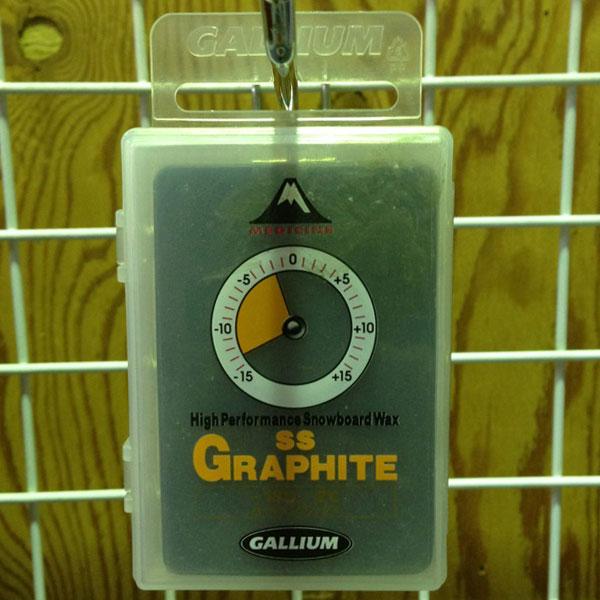 GALLIUM WAX SS GRAPHITE / gallium SS GRAPHITE, gallium waxes and snowboard tune-up / snowboard wax /SB0035