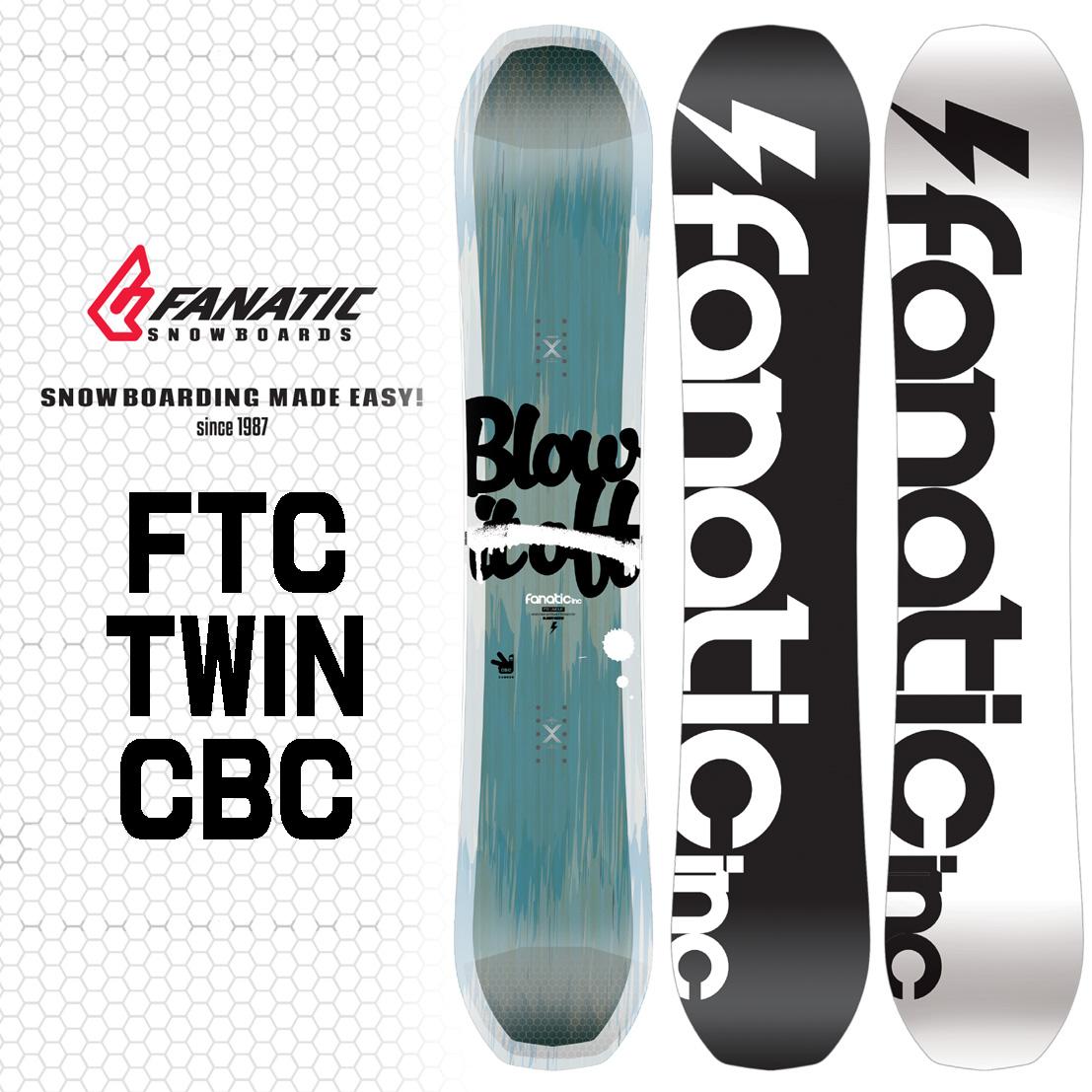 17-18 FANATIC FTC TWIN CBC/17-18 ファナティック/17-18 FTC TWIN CBC/FANATIC スノーボード/FANATIC ボード/ファナティック スノーボード/ファナティック ツイン/150/2017-2018