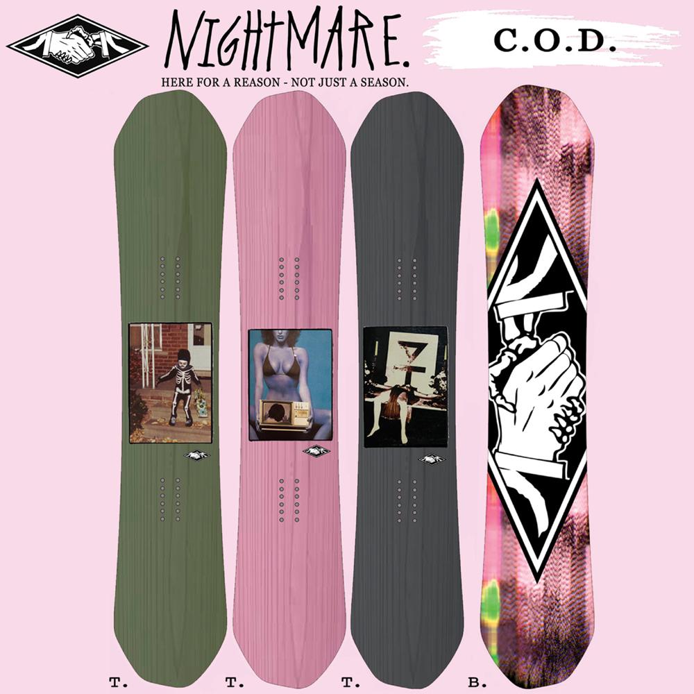 17-18 NIGHTMARE C.O.D/NIGHTMARE スノーボード/ナイトメア スノーボード/NIGHTMARE/シーオーディー/152