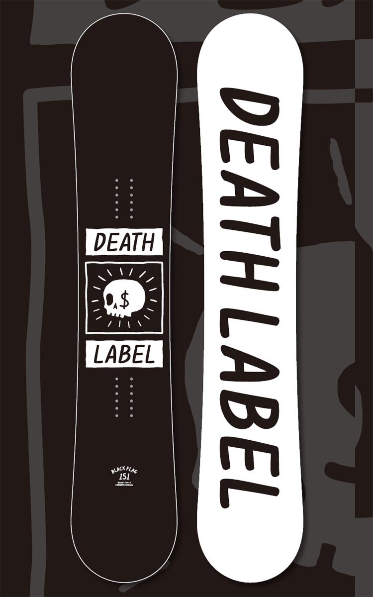 18-19 DEATH LABEL BLACK FLAG/ブラックフラッグ/18-19 デスレーベル BLACK FLAG/DEATH LABEL 18-19/DEATH LABEL BLACK FLAG 18 19/DEATH LABEL ボード/デスレーベル スノーボード/142 151/2018-2019