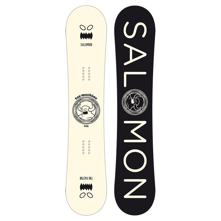 19-20 SALOMON THE FACTOR サロモン 19 20 品質保証 スノーボード ボード 147 35%OFF 153 143 2019-2020