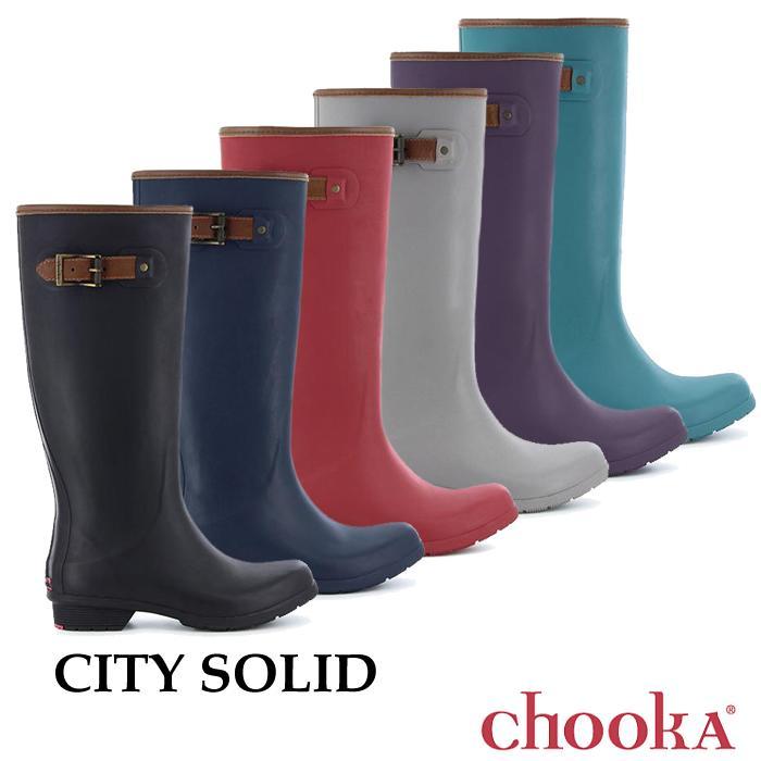 Chooka【チューカ】City Solid / シティ ソリッド ※※ ウィメンズ レディース スノーブーツ レインブーツ レインシューズ ブーツ 長靴