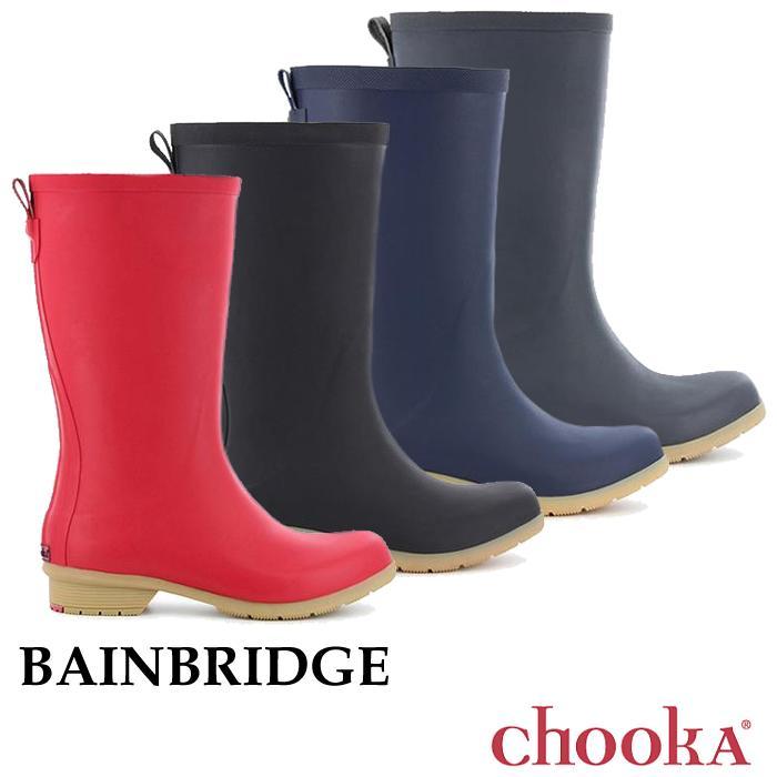 Chooka【チューカ】Bainbridge / べインブリッジ ※※ ウィメンズ レディース スノーブーツ レインブーツ レインシューズ ブーツ 長靴 ショートブーツ