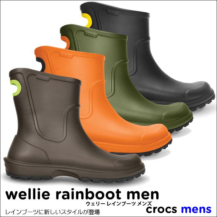 Crocs Wellie Rainboot Men / very rain boots mens * *