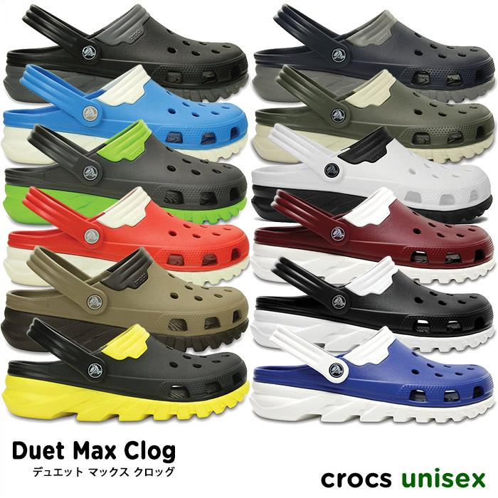 1d99d4c6f6b crocsDuet Max Clog   Duet Max clog     men s ladies Sandals DuetSport   Duet  sport ...