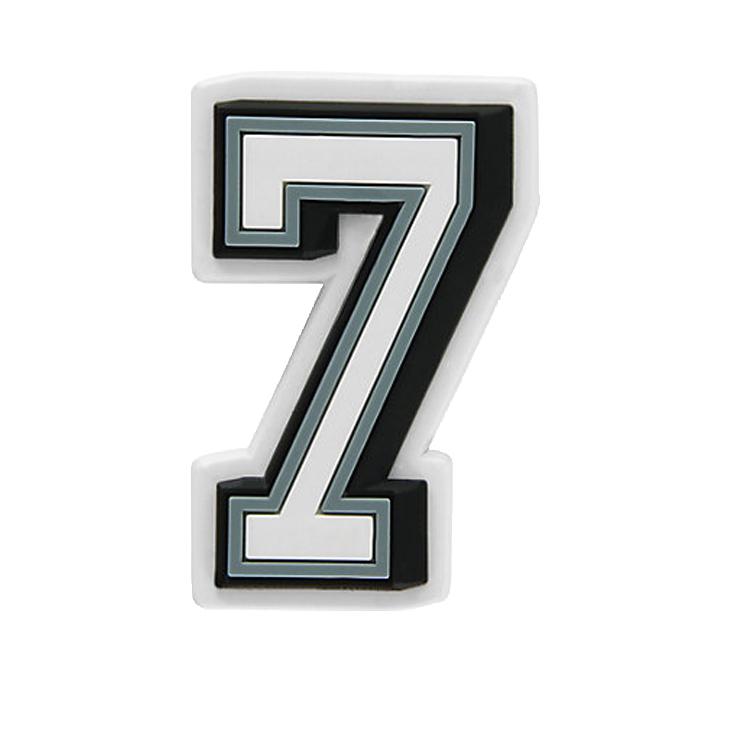 全店販売中 ジビッツ《チャーム》ナンバー 7 Number ストア JIBBITZ