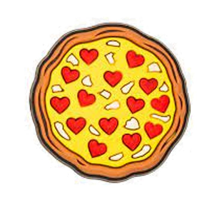 ジビッツ《チャーム》ラブ 感謝価格 ピザ JIBBITZ Pizza セール特価 Love