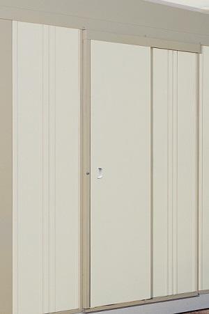★10倍ポイント★【タクボ ガレージ&倉庫】 共通オプション SS・CS型用 引き戸(片引き)