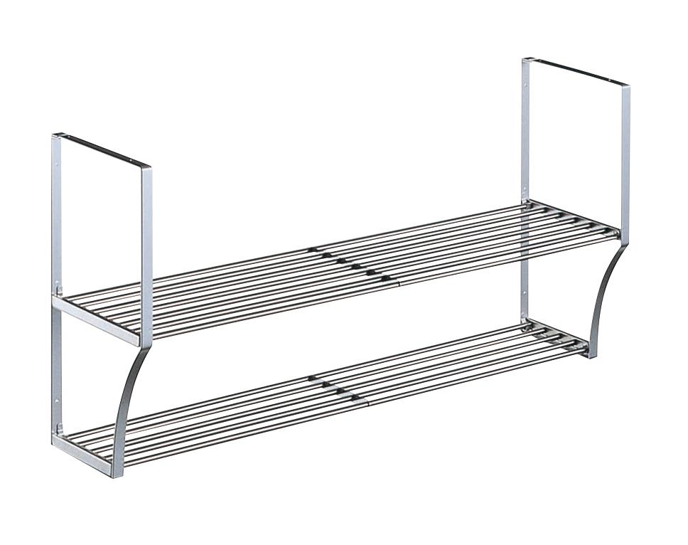【タクボ】 パイプ棚2段Sタイプ幅180cm