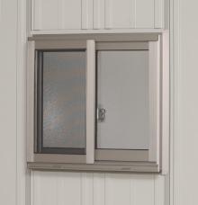 【タクボ物置】 共通オプション J-S21A サッシ窓壁パネル1枚用(網戸付)【パネル21用】